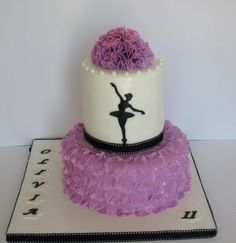 Ballet cake By luckyblueeye on CakeCentral.com