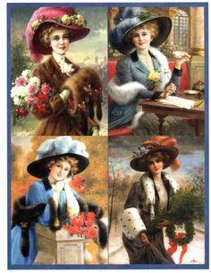 Victorian Ladies in Furs