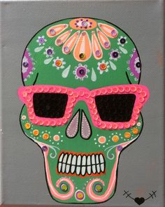 Calavera Mexicana on the beach