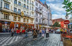 Praga, Stradă, City, Vechi, Oraş, Cehă, Arhitectura