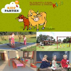 Barnyard Kids in Midrand offers a fun-filled farmyard experience in the middle of the city. Parties can be either self-catering, or ask about one of our all-inclusive packages to ensure you have a stress-free party. We have lots of space, lots of playground equipment, and many animals.    #barnyardkids #midrand #kidspartyvenues #kidsparties #farmyard #animals #outdoor #kidsvenue #partyvenue #parties #farmanimals