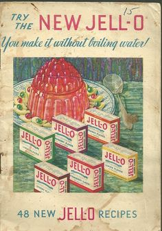 1932 Vintage Cookbook Jello Advertising Cookbook-Try The New Jell-o