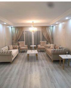 Living Room Set up! Hook us up : 08063730120 Let's Design Your Space! Glam Living Room, Living Room Sofa, Living Room Furniture, Living Room Decor, Home Decor Furniture, Furniture Design, Home Interior, Interior Design, Salons Cosy