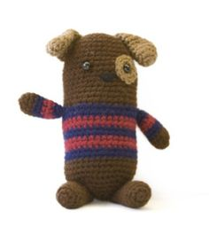 Dog Amigurumi - Free Pattern (click Instructions)