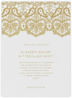 "daphne"" invitation by crane & co. for paperless post 