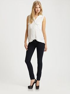 J Brand - 901 Lightweight Low Rise Denim Leggings. Never did I ever expect to love jeggings so much...