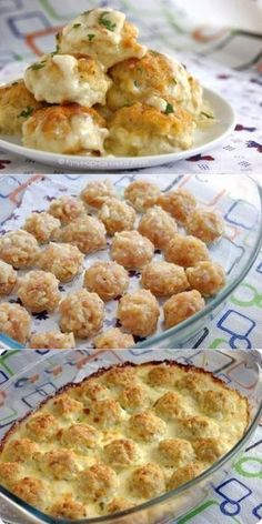 Tender chicken balls in cream cheese sauce . Shoes shoes_fe Casual Shoes for Him Tender chicken balls in cream cheese sauce .- Tender chicken balls in cream cheese sauce …- Tender chicken ball Oven Chicken Recipes, Meat Recipes, Appetizer Recipes, Cooking Recipes, Chicken Dishes For Dinner, Cream Cheese Sauce, Tasty Meatballs, Russian Recipes, No Cook Meals