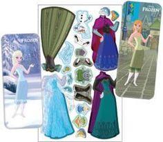 Frozen Magnetic Paper Dolls