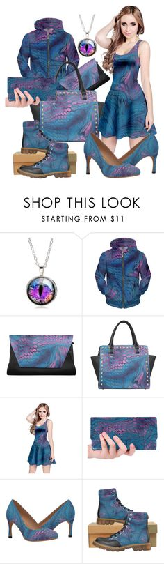 """""""midnight dragon camouflage"""" by cglightningart ❤ liked on Polyvore"""
