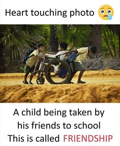 Hats off to his friends.👏👏 There is a magical true friendship found in rare friends Heart Touching Story, Touching Stories, Sad Stories, Best Friend Poems, Real Life Quotes, Bff Quotes, Qoutes, Happy Friendship Day Quotes, Swag Quotes