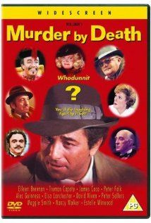 1976. Murder by Death. One of the funniest Neil Simon films made...Alec Guiness, Peter Sellers, and so many other greats are hilarious.  Especially the blind butler and the deaf maid!