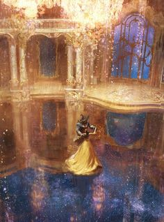 Beauty and the Beast.by Karl Simon I find these images of unique beauty. Finally today arrived permission of… Source by and the beast Fera Disney, Arte Disney, Disney Magic, Disney Art, Disney Movies, Images Disney, Disney Pictures, Disney And Dreamworks, Disney Pixar