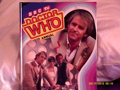 My 1984 Doctor Who annual.