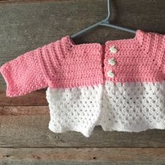 The Erica sweater- perfect for any special little lady