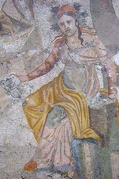 Roman Mosaic Pompeii 1st century CE (1)