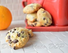 """Al richiamo del mio fidanzato: """"Se ti annoi, mi prepari qualcosa da portare a lavoro per spuntino?"""" io ho risposto con questi biscotti cioccolato e arancia."""