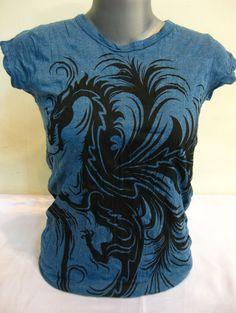 T-Shirt The Dragon für Frauen von Sure Design aus Thailand