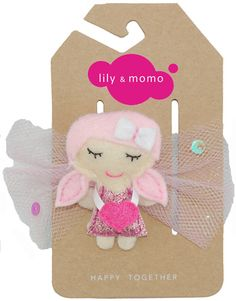 Lily's pick of the week! Sweet fairy hair clips from Lily and Momo. Super cute.