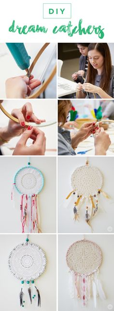 A dreamcatcher is such a fun accessory to hang in your bedroom, but also makes an excellent gift for a friend. With this helpful step-by-step DIY guide, you can make one yourself and customize it to your liking with your favorite colors and materials!