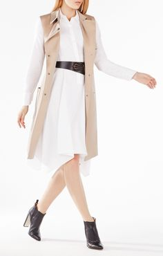 83748b39581 Get boardroom ready with work dresses from BCBG. With a variety of  professional work dresses to choose from