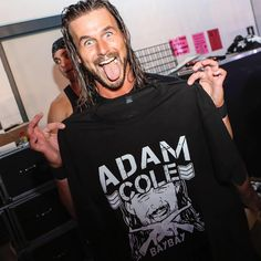 Former ROH World Champion Adam Cole has been killing it on the independent scene for some time now, but it appears he could be jumping to the WWE very soon. Earlier this year, Adam Cole made history . Wrestling Stars, Wrestling Wwe, Bobby Fish, Adam Cole, Kenny Omega, Bay And Bay, Vince Mcmahon, Wwe Wallpapers, Wwe News