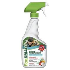 cool Ecosmart Organic Botanical Insect Killer Garden Soap Formula 24oz Spray - For Sale