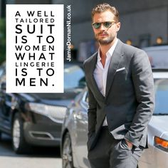 Well ain't that the truth! #JamieDornan