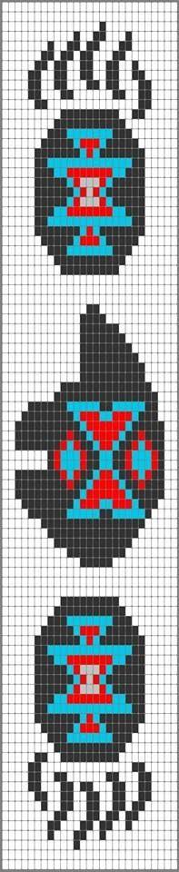 Bear bead pattern