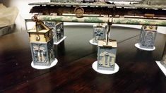 Warhammer Terrain, 40k Terrain, Wargaming Terrain, Warhammer Imperial Guard, Warhammer 40000, Catwalks, Decoration, Scenery, 1