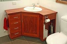 Bathroom Vanity Unit Corner Sink Ideas For 2019 Modern Bathroom Sink, Bathroom Vanity Units, Diy Vanity, Bathroom Storage, Small Bathroom, Bathroom Ideas, Bathroom Designs, Bathroom Tiling, Bathroom Showers