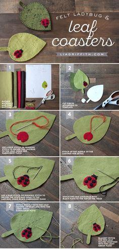 Love To Sew Craft Sewing boissons Coaster unique couturière Sewer Idées Cadeau