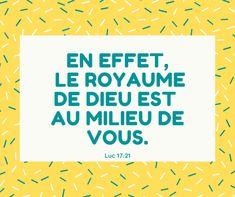 Les 30+ meilleures images de #laBible Luc en 2020 | la bible, évangile,  versets