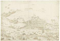 Beleg van Zaltbommel, 1599, toegeschreven aan Lambert Cornelisz., ca. 1593 - ca. 1621