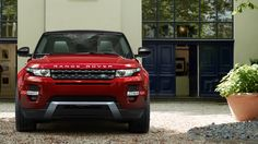 Range Rover Evoque - Dynamic model in Firenze Red LOVE this colour!!!
