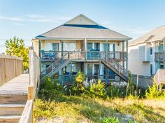 Single Family Home for Sale at Oceanfront with Spectacular Views 205-D S Anderson Blvd Topsail Beach, North Carolina 28445 United States