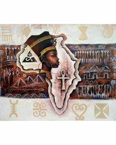 African Life, African History, Africa Tattoos, African American Culture, Black Love Art, Egypt Art, Black Artwork, Black History Facts, Soul Art