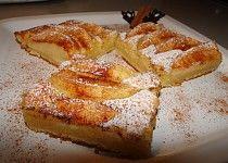 Voňavý tvarohový koláč s jablky