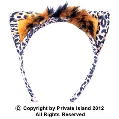 Private Island Party  - Leopard Ears Headband 1722, $1.25 - $2.99    Unleash your beast with our leopard print headband!    Fun as they are stylish, these headbands are for costume parties. cat costumes, as well as goofing around with friends. Don't miss out on this killer deal!