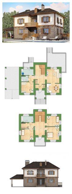 Проект на къща 155-006-L | House Expert