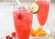 """Skinny Loop"" Healthy  1 part Three Olives Loopy Vodka  2 parts Club Soda  Splash of Grenadine"