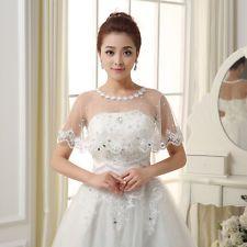 Лето/весна свадебное тюль свадебная шаль или накидка или палантин болеро куртка жемчуг
