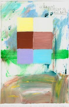 Urgent painting - Werner Mannaers