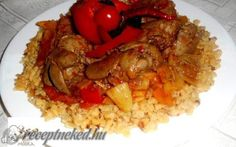 My Recipes, Cooking Recipes, Risotto, Grains, Food And Drink, Rice, Meat, Chicken, Ethnic Recipes