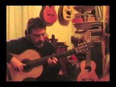 """Massimo Claus, italian guitarist and founder of Myo Edizioni, performs his song """"Il bosco incantato"""""""