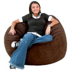 Chill Bag Bean Bags Bean Bag Chair Feet Charcoal Top - Cozy chill bag