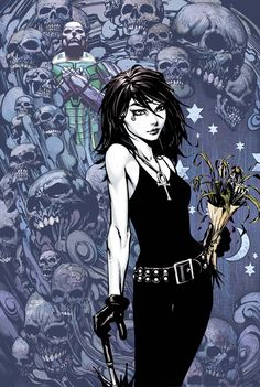 Death, one of the most intriguing DC characters... Google Image Result for http://www.geekosystem.com/wp-content/uploads/2010/07/Death-full.jpg