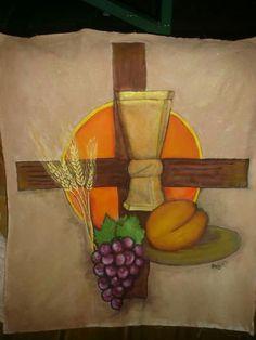 Pintura para primera comunión