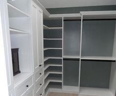 Spare room closet idea