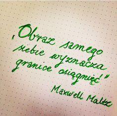 """•""""Obraz samego siebie wyznacza granice osiągnięć""""• •Maxwell Maltz•  #Citybook #Citylight #Maxwell #Maltz #Cytat #dnia"""