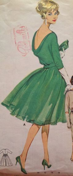 Vintage 1960s Women's Sewing Pattern Butterick by Sutlerssundries, $39.99